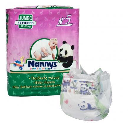 ΠΑΝΑ JUMBO N5 12-25kg 18TM NANNY`S