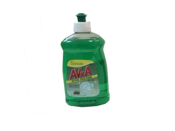 Υγρό Πιάτων Πράσινο Μήλο 500ML AVRA