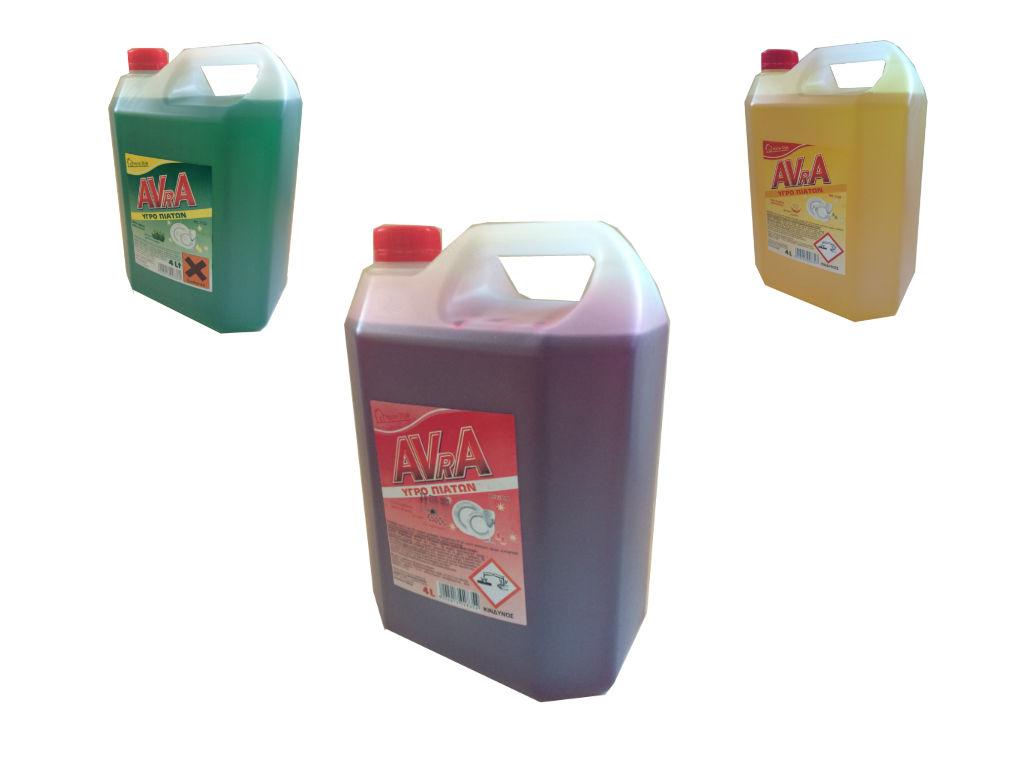 Υγρό Πιάτων Βατόμουρο 4 Λίτρα AVRA