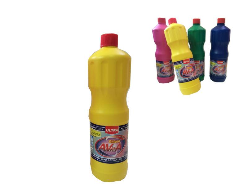 Χλωρίνη Παχύρευστη ULTRA AVRA 1250 ml Κίτρινη