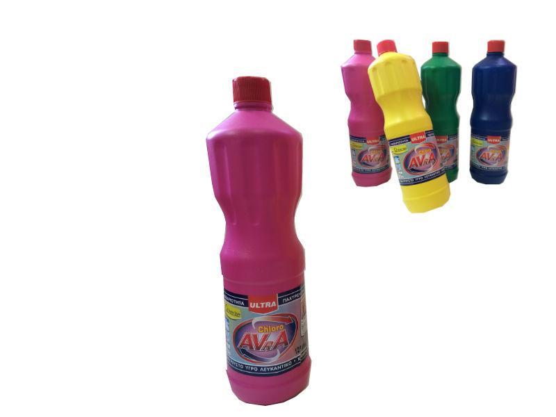 Χλωρίνη Παχύρευστη ULTRA AVRA 1250 ml Ροζ