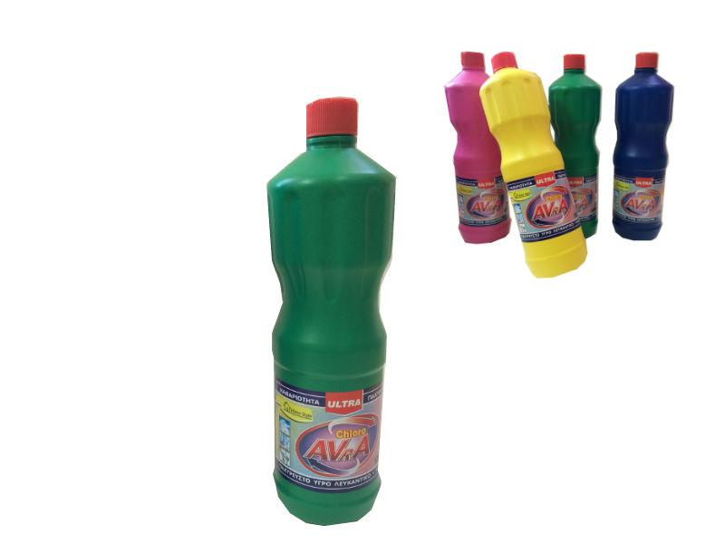 Χλωρίνη Παχύρευστη ULTRA AVRA 1250 ml Πράσινη