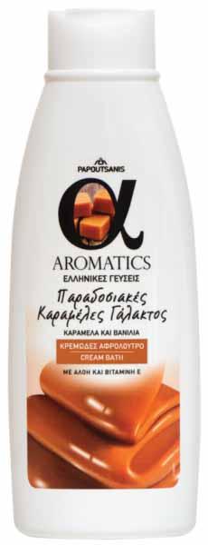 ΑΦΡΟΛΟΥΤΡΟ CARAMEL CREAMY 450ml AROMATICS