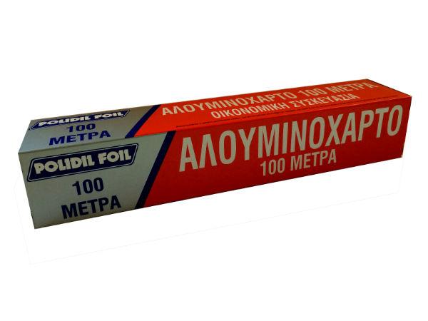ΑΛΟΥΜΙΝΟΧΑΡΤΟ 100 ΜΕΤΡΑ